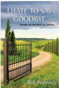 book cover I hate to say Goodbye